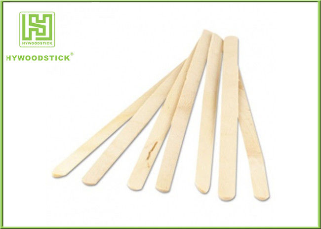 Linear Wooden Coffee Stirrer Sticks Christmas Drink Stirrers FSC Certificated