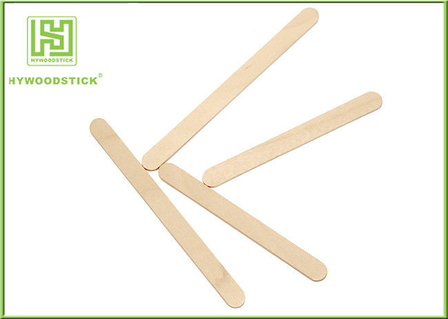Rounde Edge 114mm 93mm Ice Lolly Sticks , Popsicle Sticks Bundle Packing