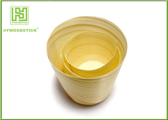 High Quality Disposable Wood Tasting Sanck Cup, Suction Cups for Wood